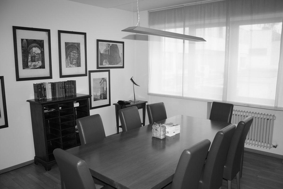 Foto sala riunione Coden Studio Legale